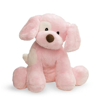 Barking Spunky the Pink Plush Puppy by Gund