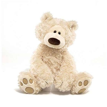 Philbin The 13 Inch Plush Cream Teddy Bear by Gund