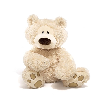 Philbin the 18 Inch Plush Cream Teddy Bear by Gund