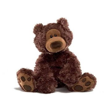 Philbin the 13 Inch Plush Brown Teddy Bear by Gund