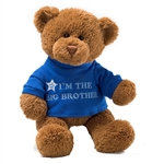Im the Big Brother Teddy Bear with Embroidered Blue Shirt by Gund