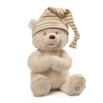 Goodnight Prayer Bear Animated Plush Toy by Gund