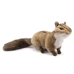 Handcrafted 8 Inch Lifelike Chipmunk Stuffed Animal by Hansa
