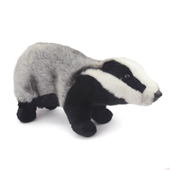 Handcrafted 18 Inch Lifelike Badger Stuffed Animal by Hansa