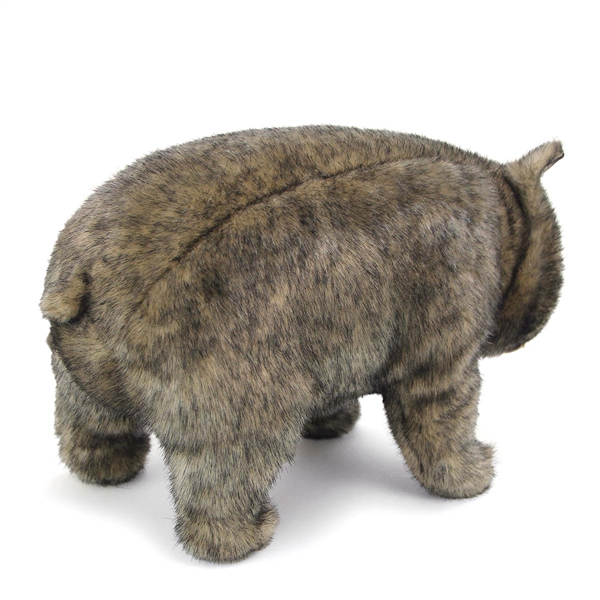 Handcrafted inch lifelike wombat stuffed animal by