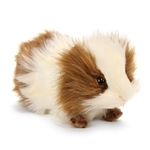Handcrafted 8 Inch Lifelike Brown Guinea Pig Stuffed Animal by Hansa