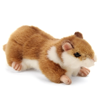 Handcrafted 7 Inch Lifelike Hamster Stuffed Animal by Hansa