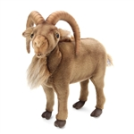 Lifelike Mountain Goat Stuffed Animal by Hansa