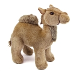 Handcrafted 9 Inch Lifelike Camel Stuffed Animal by Hansa