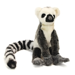 Lifelike Lemur Stuffed Animal by Hansa