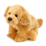 Lifelike Stuffed Golden Retriever Puppy by Nat and Jules