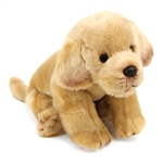 Lifelike Yellow Lab Stuffed Animal by Nat and Jules