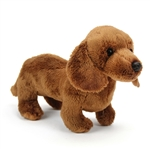 Small Stuffed Dachshund by Nat and Jules