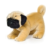 Lifelike Pug Stuffed Animal by Nat and Jules