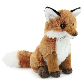 Stuffed Red Fox Conservation Critter by Wildlife Artists
