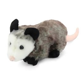 Stuffed Opossum Conservation Critter by Wildlife Artists