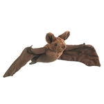 Stuffed Mexican Free-Tailed Bat Conservation Critter by Wildlife Artists