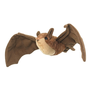 Stuffed Brown Bat Conservation Critter by Wildlife Artists