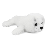 Stuffed Harp Seal Pup Conservation Critter by Wildlife Artists