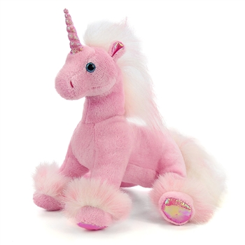 Stuffed Unicorn Conservation Critter by Wildlife Artists