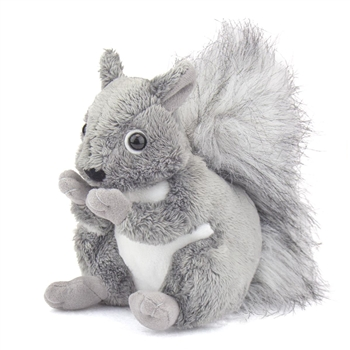 Stuffed Gray Squirrel Conservation Critter by Wildlife Artists