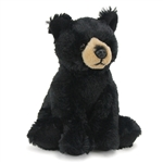 Stuffed Black Bear Conservation Critter by Wildlife Artists