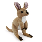 Plush Wallaby 13 Inch Conservation Critter by Wildlife Artists