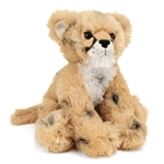 Plush Cheetah Cub 10 Inch Conservation Critter by Wildlife Artists