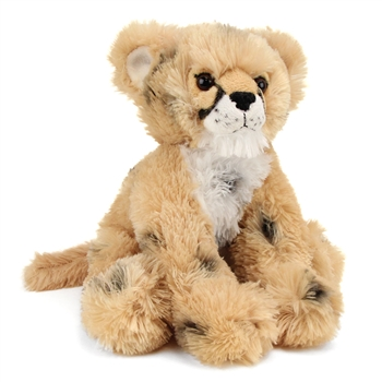 Plush Cheetah Cub 13 Inch Conservation Critter by Wildlife Artists