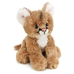 Plush Mountain Lion 14 Inch Conservation Critter by Wildlife Artists