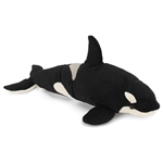 Plush Orca 19 Inch Conservation Critter by Wildlife Artists