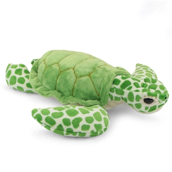 Plush Green Sea Turtle 14 Inch Conservation Critter by Wildlife Artists