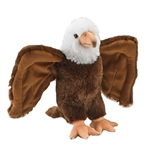 Plush Bald Eagle 14 Inch Conservation Critter by Wildlife Artists