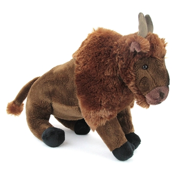 Plush Bison 14 Inch Conservation Critter by Wildlife Artists