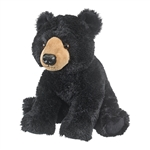Plush Black Bear 14 Inch Conservation Critter by Wildlife Artists