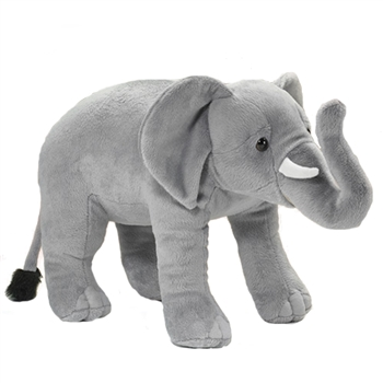 Large Stuffed Elephant Conservation Critter by Wildlife Artists