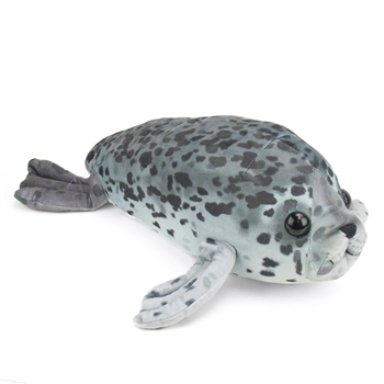 Large Stuffed Harbor Seal Pup Conservation Critter by Wildlife Artists