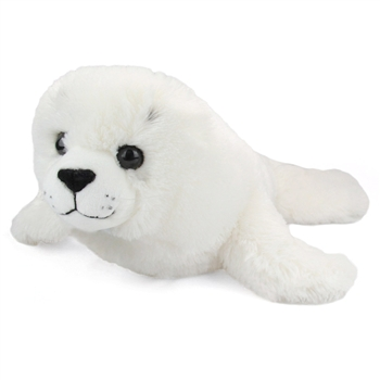 Large Stuffed Harp Seal Pup Conservation Critter by Wildlife Artists