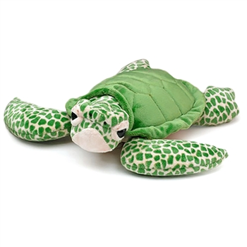 Large Stuffed Green Sea Turtle Conservation Critter by Wildlife Artists