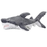 Jumbo 42 Inch Stuffed Great White Shark by Wildlife Artists