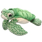 Jumbo 29 Inch Stuffed Green Sea Turtle by Wildlife Artists