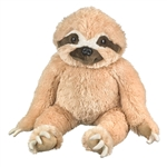 Big Sitting Sloth Stuffed Animal by Wildlife Artists