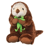 Jumbo 27 Inch Stuffed Sea Otter by Wildlife Artists