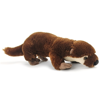 Plush River Otter 14 Inch Conservation Critter by Wildlife Artists