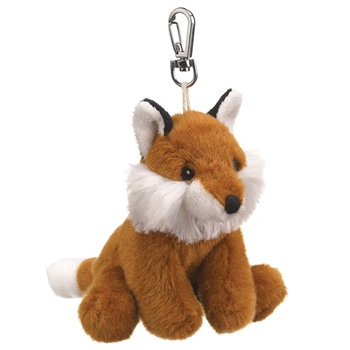 Small of the Wild Clip On Stuffed Fox by Wildlife Artists