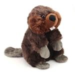 Stuffed Beaver Mini Cuddlekin by Wild Republic