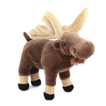 Stuffed Moose Mini Cuddlekin by Wild Republic