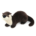 Stuffed River Otter Mini Cuddlekin by Wild Republic
