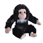 Baby Plush Chimpanzee 12 Inch Stuffed Primate Cuddlekin By Wild Republic