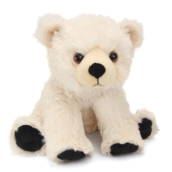 Baby Plush Polar Bear 12 Inch Stuffed Bear Cuddlekin By Wild Republic